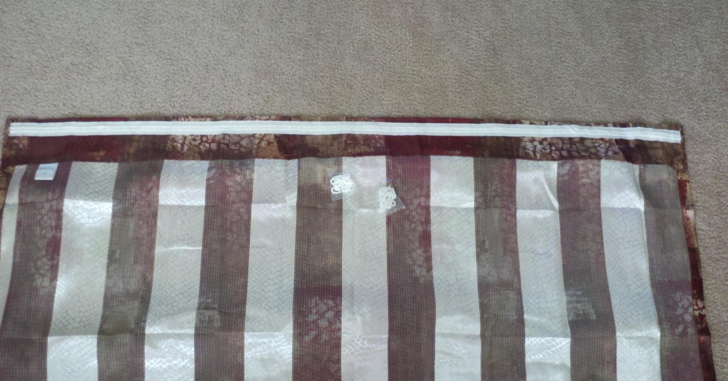 2 Tape Sewn On Panel