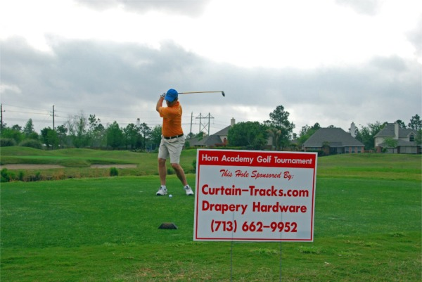 Curtain-Tracks.com Sponsorship of 2010 Horn Academy Golf Fundraiser