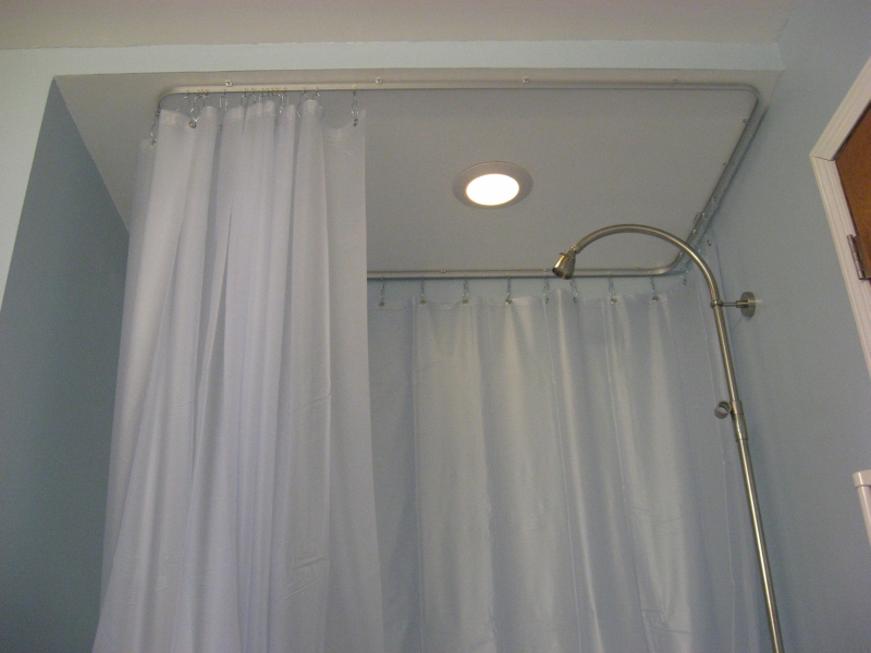 Curtain Track Bent To 90 Degree Angles