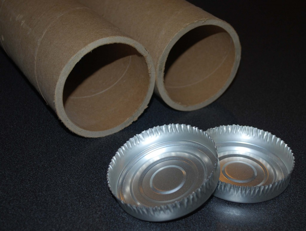 Shipping Tubes Used for Curtain Tracks