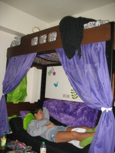 Dorm Bunk Bed Curtains