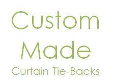 Curtain Tie-Backs