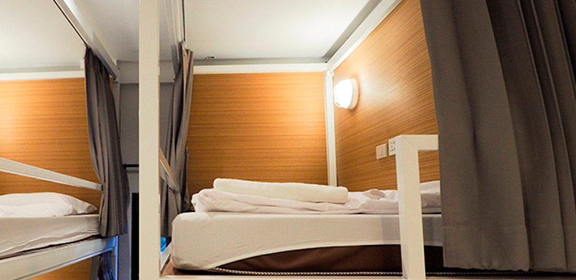 Bunk Bed & Living Quarter Curtains