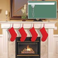 Christmas Curtain Tracks