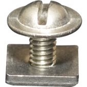 7127 Stainless Steel End Stop - Silver