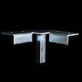 Industrial Universal Corner Support Floor Mount