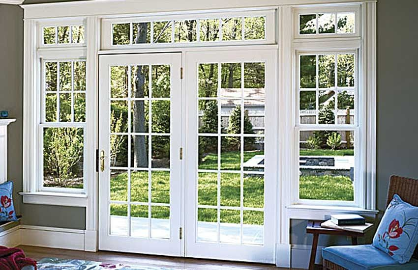 These French Doors Just Need Curtains