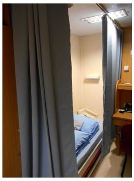 Delivering Bunk Curtains Half A World Away Curtain