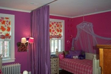 Keep The Peace With Bedroom Divider Curtains