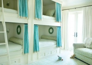 Bunk Curtains for the Bedroom