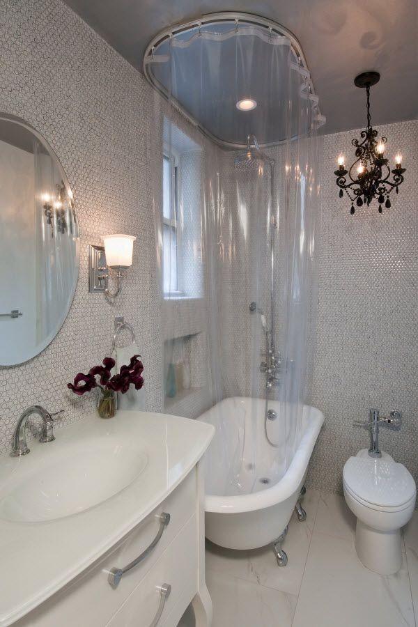shower in clawfoot tub. Rub A Dub  Shower Curtains for Clawfoot Tubs Curtain Tracks com