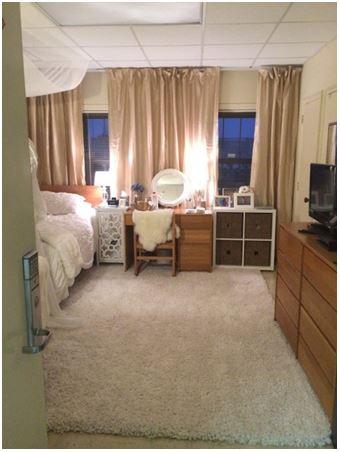 Dorm Room Ideas: Curtain Tracks