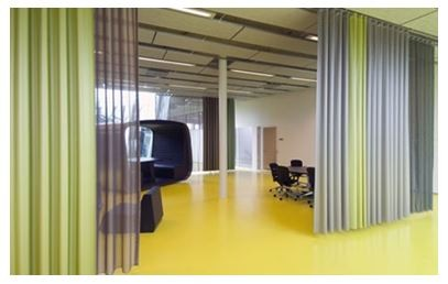 Keep Your Employees Happy With Office Curtains | Curtain-Tracks.com