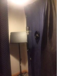 Thinking Outside The Booth – Using Curtains To Create An Audio Studio