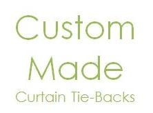 Finish the Look with Custom Curtain Tie-Backs