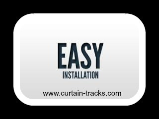 Curtain Track Installation Made Easy